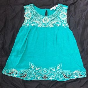 W's Forever 21 tank top w lace detail, size L